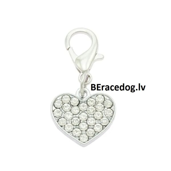 Charm Heart pendant set