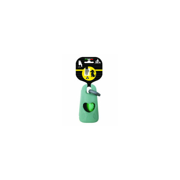 Dispensers ar karabīni izkārnījumu savākšanas maisiņiem cm. 9,5x5x4h