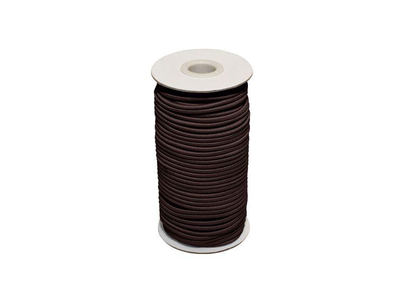 Elastīga poliestera aukla 2 mm brūna 50 m
