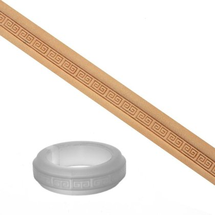 Reljefa rullītis 5 mm (Delrin) - apmales raksts
