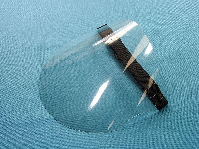 Face Shield, black set 25 pcs