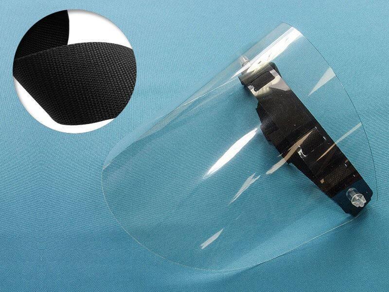 Face Shield, black set 3 pcs