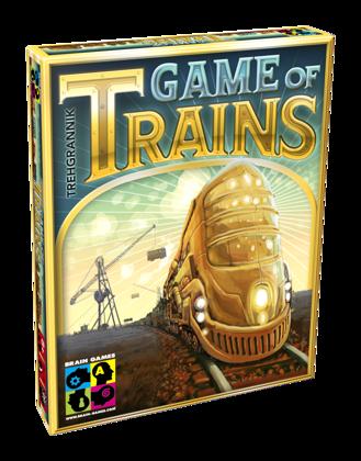 "Galda spēles ""Game of Trains"""