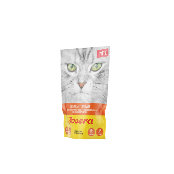 Josera cat pate Chicken with Spinach 85 g