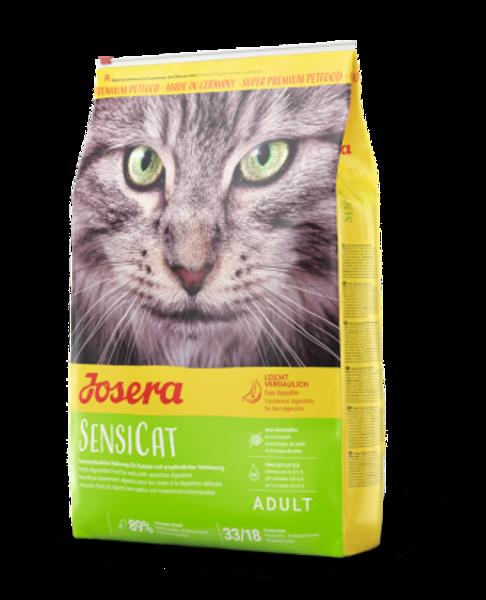 Josera Super Premium SensiCat dry cat food