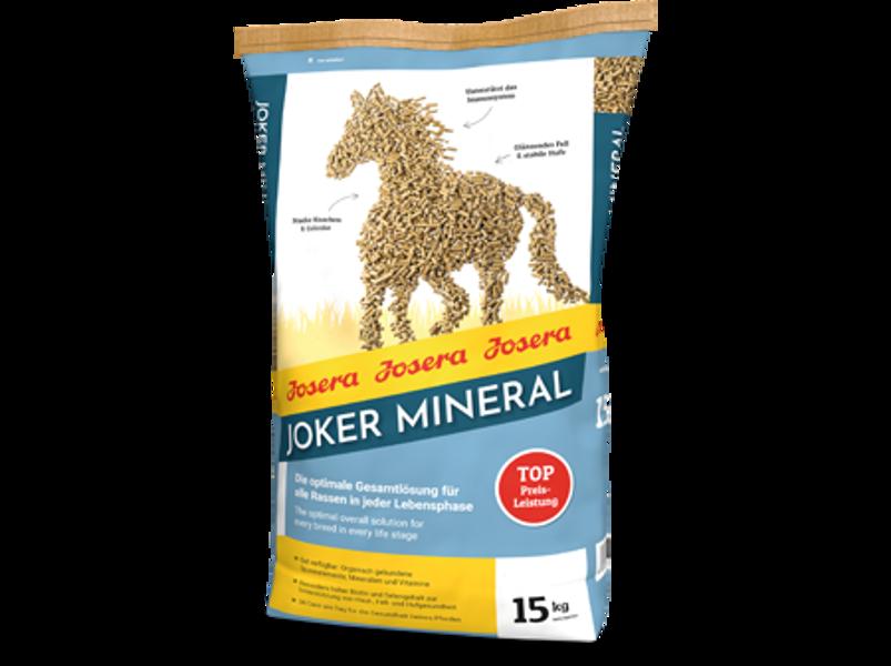 Josera Joker Mineral 15 kg barība zirgiem