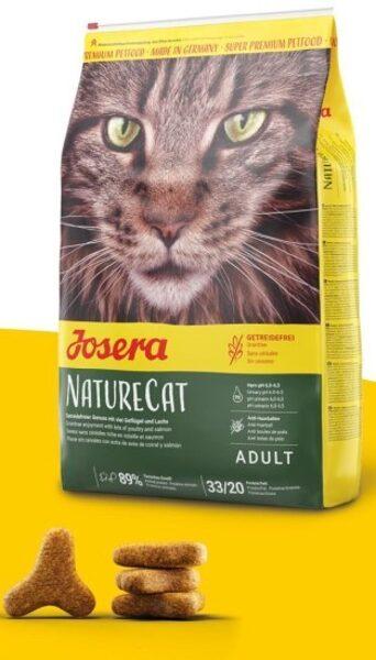 Josera Super Premium NatureCat dry cat food