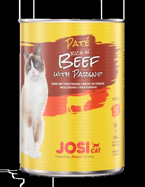 Cat pate Josera JosiCat Pate Beef with parsnip 400 g