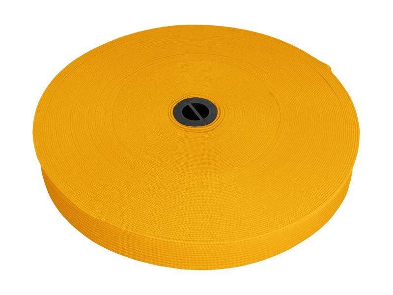 Elastīga dzeltena lenta 20 mm 25 m