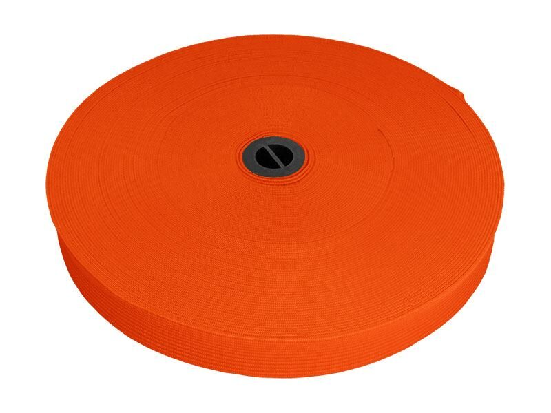 Elastīga oranža lenta 20 mm 25 m