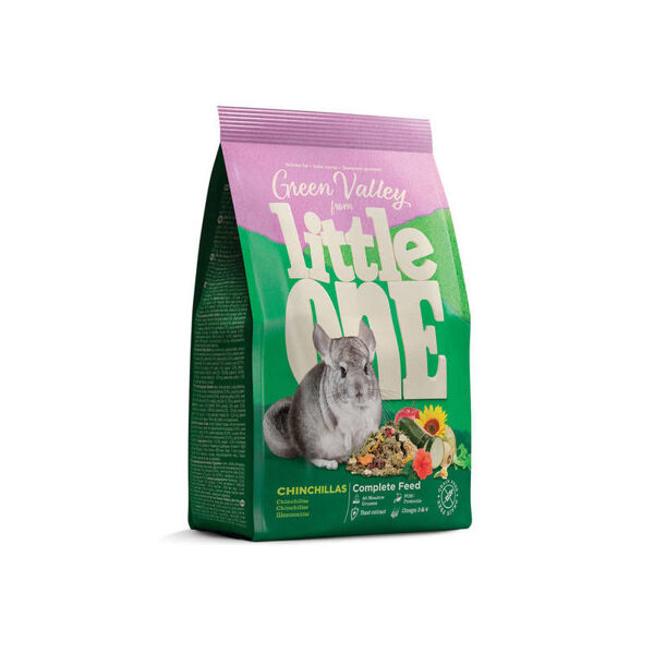 """Little One """"Green valley"""" Food for chinchillas 750g"""