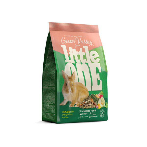 """Little One """"Green valley"""" Food for rabbits 750g"""