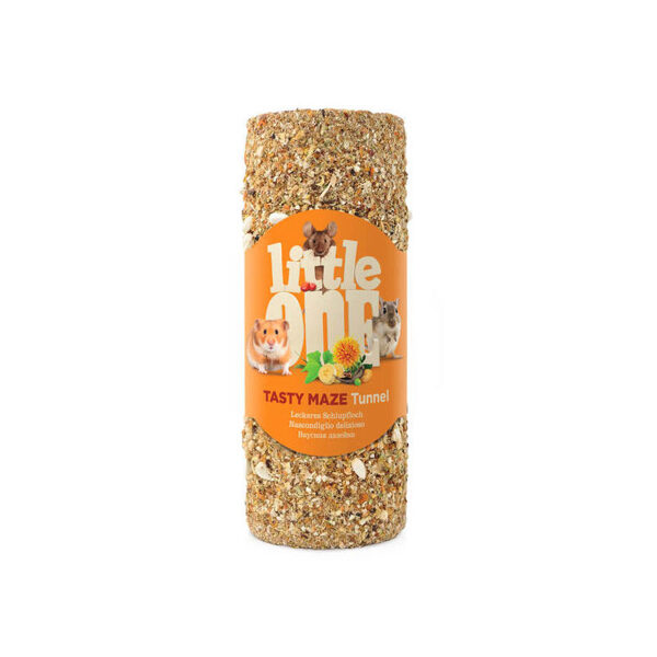 """Little One """"Tasty maze"""" tunnel, small (for hamsters, rats and mice) 100g in film"""