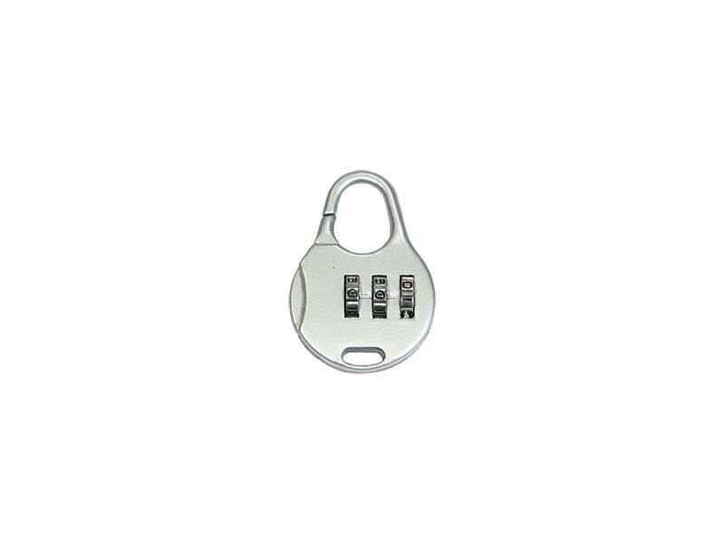 Metal padlock combination lock 108
