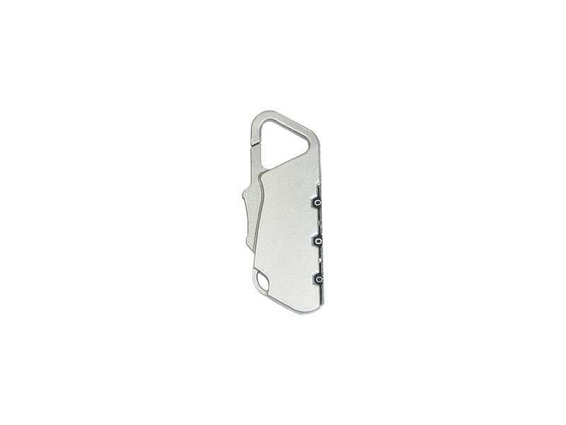 Metal padlock combination lock 202