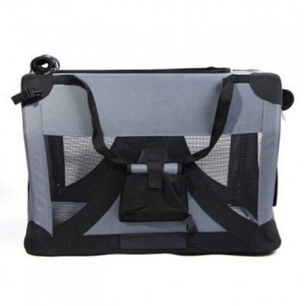 Smart pet travel crate XXL 91x63xh63cm gray