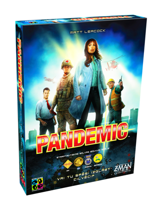 Galda spēles Brain Games Pandemic