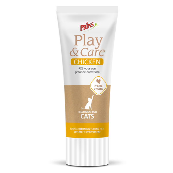 PRINS pastēte Play & Care Cat CHICKEN 75 g