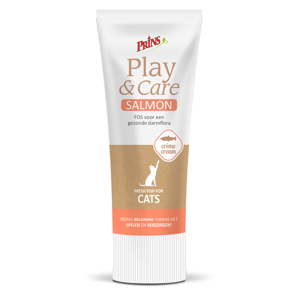 Prins Play & Care Cat SALMON 75 g