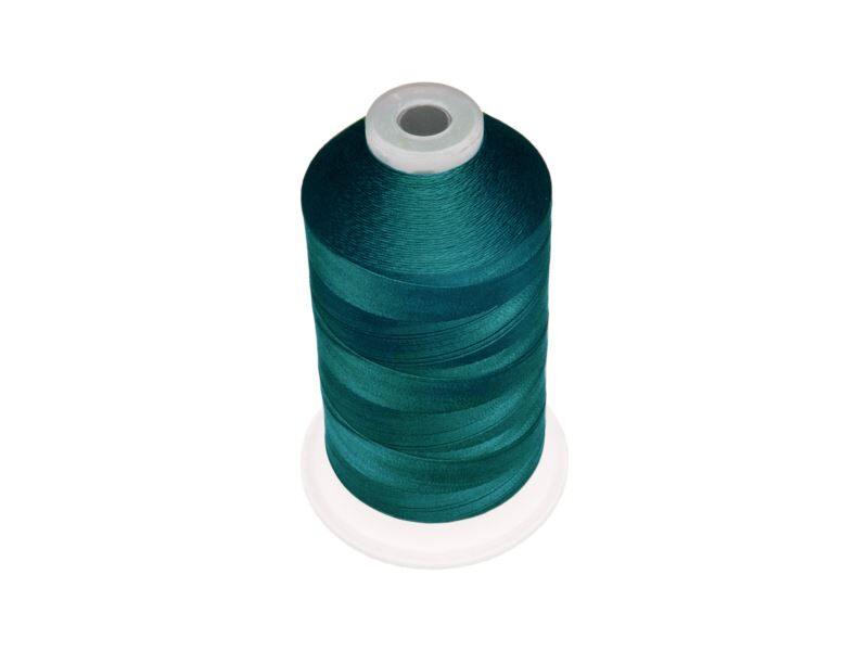 Polyester threads NTF 210D/2 Deep peacock blue set