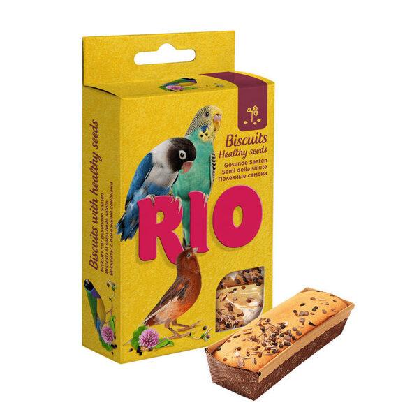 RIO Cepumi ar veselīgām sēklām visu veidu putniem 5 x 7 g