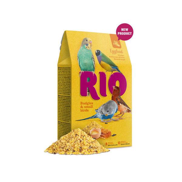 RIO Eggfood for budgies and small birds 250g barība ar olām mazajiem papagaiļiem un maziem putniem