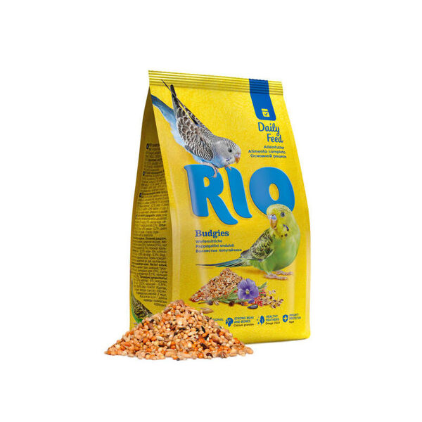 RIO food for budgies 1kg barība maziem papagaiļiem