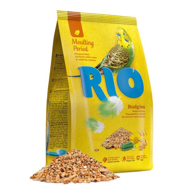 RIO food for budgies 500g barība maziem papagaiļiem spalvas mešanas periodā