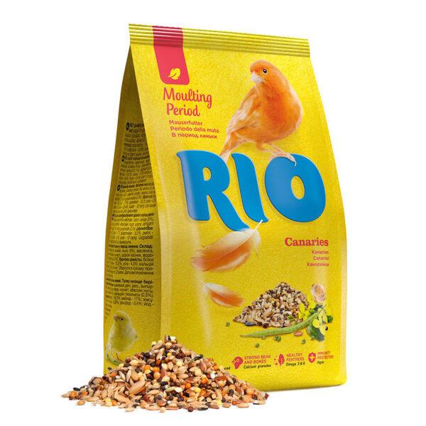 RIO food for canaries 500g barība kanārijputniņiem spalvas mešanas periodā