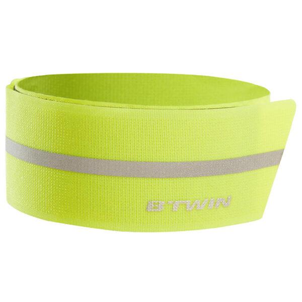 Rip-tab cycling trouser clip yellow