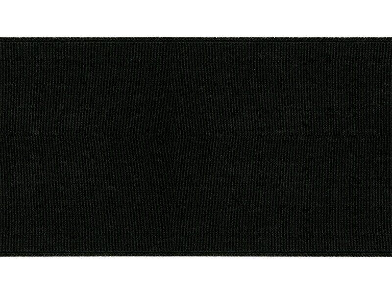 Kurpju elastīgā lenta / šņores melnas Shoes Elastic band 100 mm 25 m