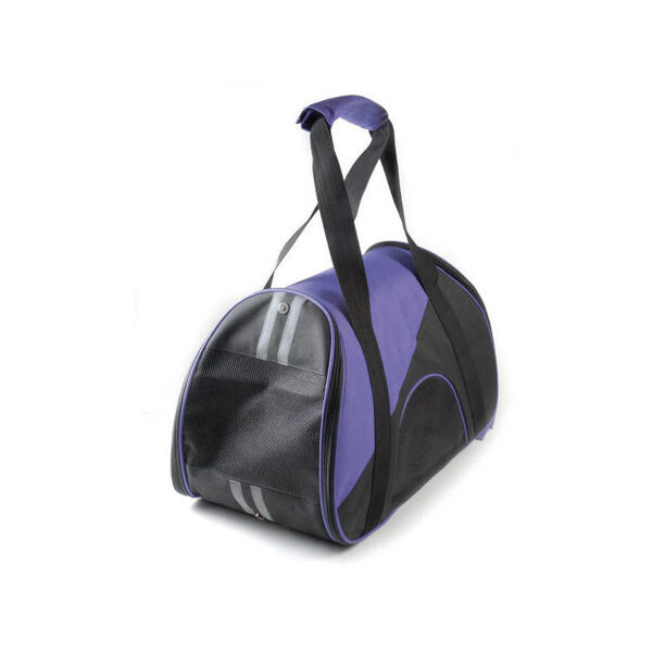 Two-coloured bag carrier with pocket 47X24X28 cm 715g