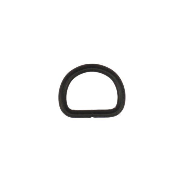 D riņķis melns 16 mm komplekts