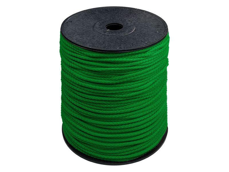 Zaļa poliestera aukla 5,5mm 200 m