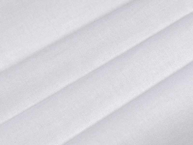 Kokvilnas audums 150 cm balts 100 m