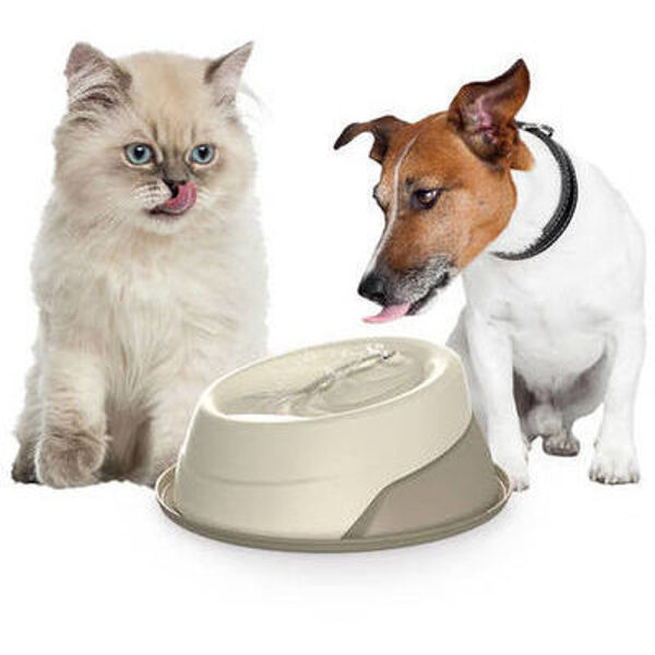 Trevi automatic pet fountain lt. 2,00 with filter + tray with anti-slip