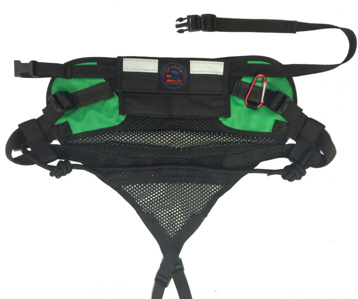 ZeroDC canicross belt Speedy green