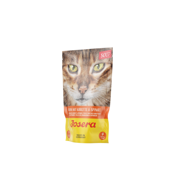 Josera cat soup ZUPA Chicken with Carrots&Spinach 70 g